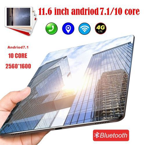 10.1 inch WiFi Tablet PC andriod 7.1 Dual SIM Dual Camera Rear 13.0MP IPS Bluetooth WiFi Call Phone Tablet