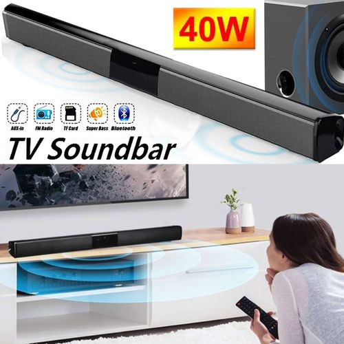 2019 New 330/550mm Wireless Bluetooth Soundbar Hi-Fi Stereo Speaker Home Theater TV Strong Bass Sound Bar Subwoofer with/without Remote Control