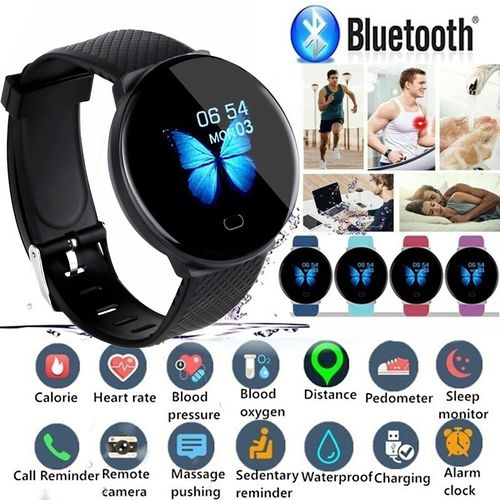 Color Screen Smart Watch IP67 Waterproof Sport Smart Bracelet Heart Rate Blood Pressure Sleep Monitor Fitness Activity Tracker Smartband for IOS Android